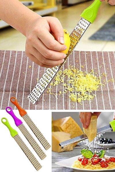 Mercan Uzun Limon Peynir Sarımsak Rendesi, Uzun Rende, Pratik Uzun El Rendesi