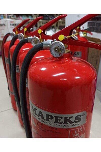 Universal Kalite - 6 Kg Tozlu Yangın Söndürme Tüpü - Yeni Tip