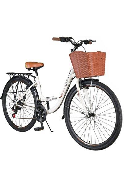 daafu City 200 Microshift 28 Jant Bisiklet 21 Vites Bayan Şehir Bisikleti