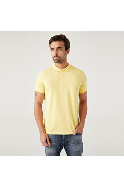 Five Pocket Erkek Sarı Polo Tişört 8101-fy85