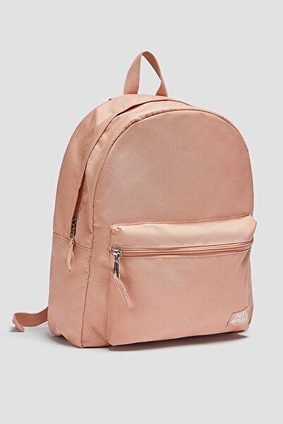 Pull & Bear Cep detaylı kumaş sırt çantası