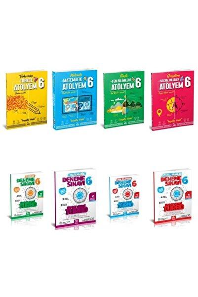 Arı Yayınları 6.sınıf Atölyem Set( Türkçe , Matematik , Fen , Sosyal) Ve Turbo Denemeler