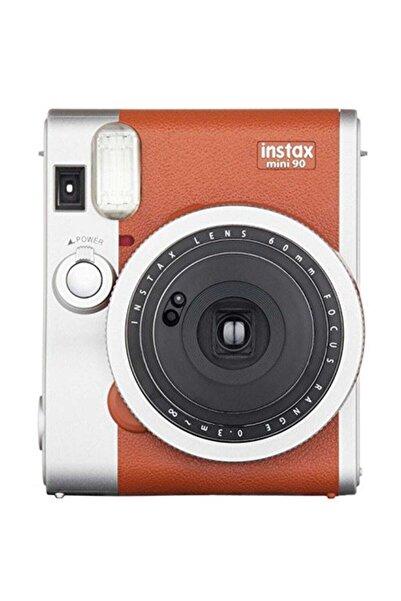 Fujifilm Instax Mini 90 Classic Kahverengi Fotoğraf Makinesi