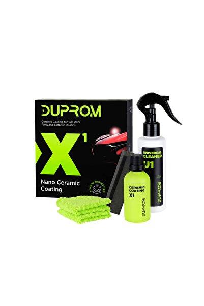 Duprom X1 9h Nano Seramik Kaplama - Oto Boya Koruma- Evrensel Temizleyici Ile Ultra Parlaklık