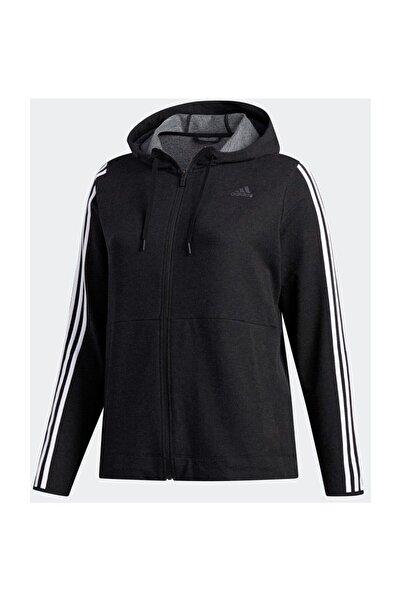 adidas Kadın Yetişkin Spor Ceket 3S KNT FZ HOOD FJ7340