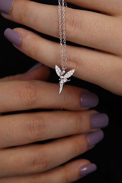 Parmas Design Kadın Peri Kızı 925 Ayar Gümüş Kolye