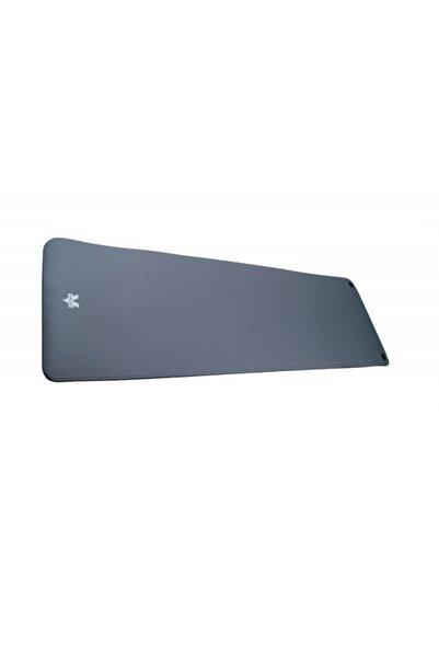 VALEO 1.5cm 180x60 Gri Delikli Fitness Matı