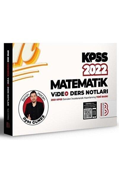 Benim Hocam Yayınları Benim Hocam 2022 Kpss Matematik Video Ders Notları - Ilyas Güneş