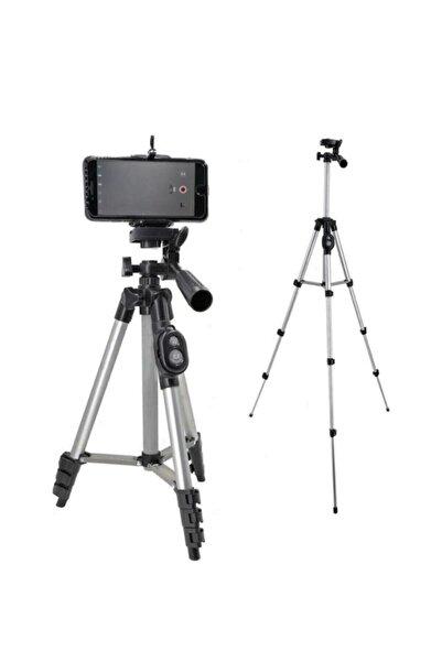 Auris Profesyonel Fotoğraf Video Çekimi 106 Cm Tripot Telefon Tutucu 3888