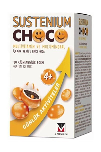 Sustenium Choco Multivitamin 90 Çiğnenebilir Form