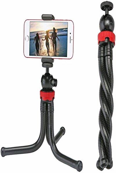 dijimedia Esnek Flexible Tripod Kamera Profesyonel Telefon Tutucu 360 Derece Tripot