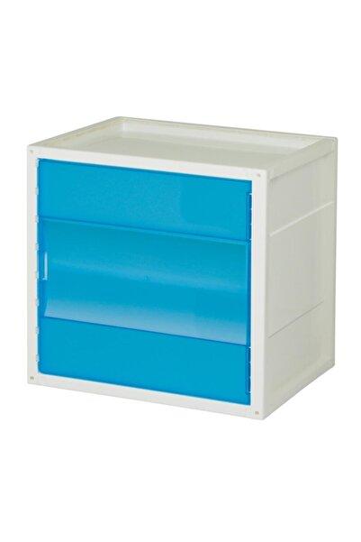 Hipaş Plastik Modüler Sistem Çok Amaçlı Organizer Kutu - Kd-2936 A-bu (mavi )