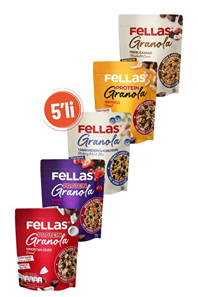 Fellas Granola Süper 5'li Paket