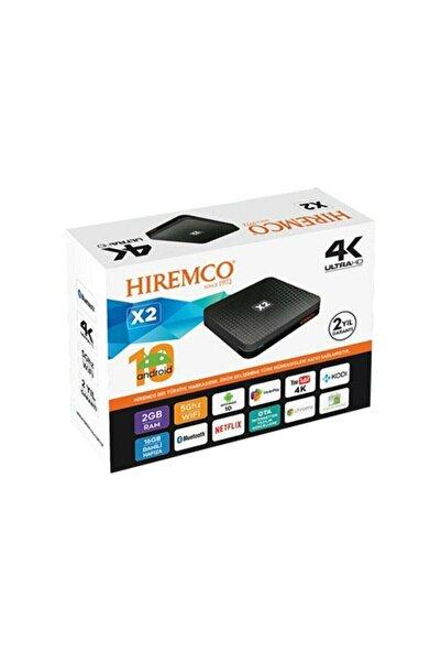 Hiremco Androıd Tv Box 4k - X2 ( Android 10 )