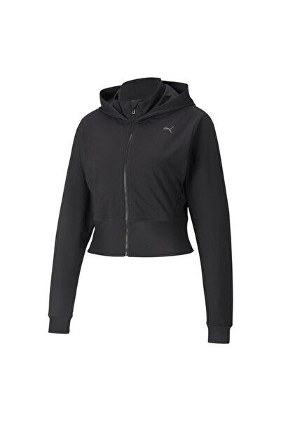 Puma Studıo Yogini Full Zip Jacket Kadın Siyah Ceket - 52098901