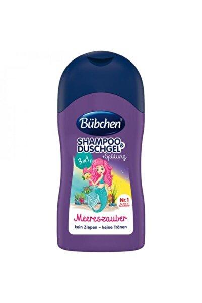 Bübchen Çocuk Şampuan Ve Duş Jeli 3 In 1 Deniz Büyüsü 50 ml