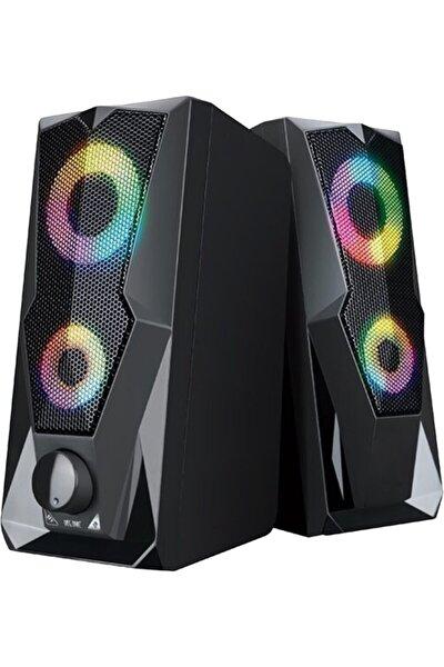 DTS Teknoloji Versatile Sp-v915 2.0 Gaming Işıklı 5w*2 Usb Speaker Hoparlör