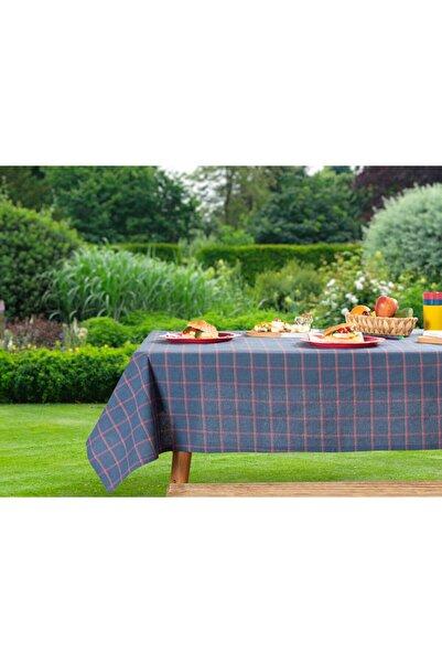English Home Colour Pop Pamuklu Piknik Örtüsü 160x160 Cm Lacivert