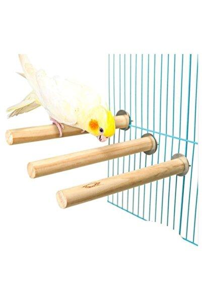 UniqBirdToys Papağan Kuş Tüneği 30 cm  Kalın