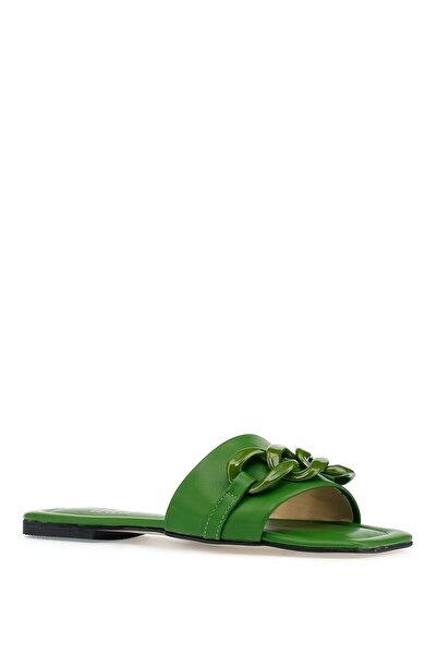 İnci Zeren.z 1pr Yeşil Kadın Terlik
