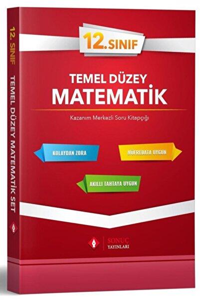 Sonuç Yayınları 12.sınıf Temel Düzey Matematik Tek Kitap 2020-202