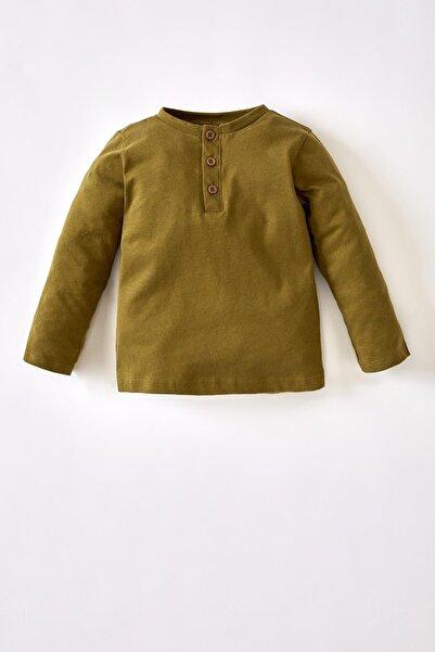 DeFacto Erkek Bebek Basic Pamuklu Uzun Kollu Tişört V1544A221AUG