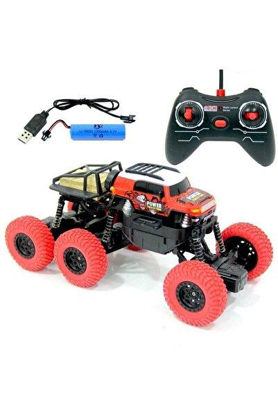 Toyshome 6x4 Rock Climber Uzaktan Kumandalı Şarjlı Jeep Araba