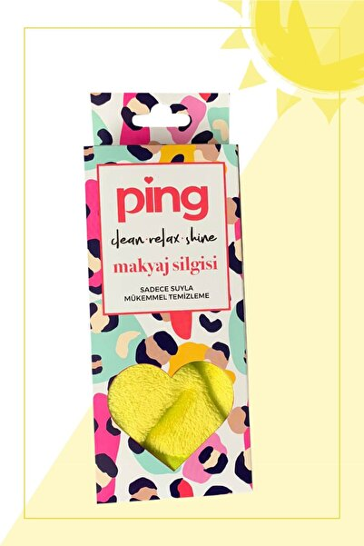 ping Makyaj Silgisi - Güneş Sarısı