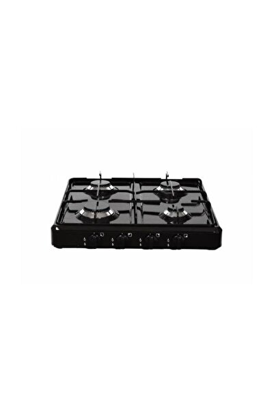 Optimum Xx-133 4 Gözlü Set Üstü Dörtlü Ocak Doğalgaz Uyumlu Siyah