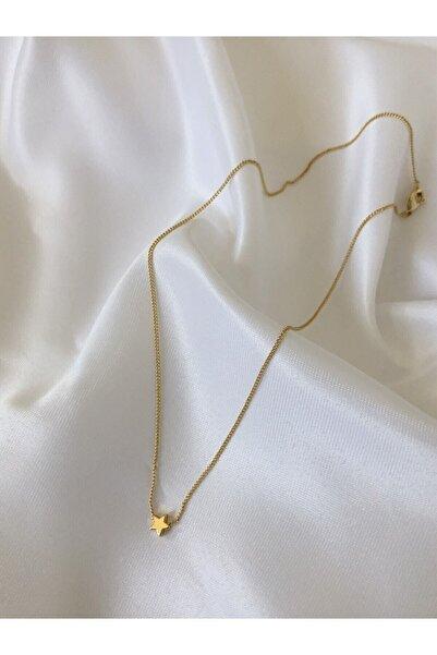The Y Jewelry Mini Yıldız Desenli Kolye