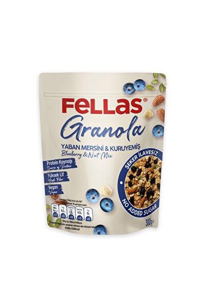 Fellas Granola - Yaban Mersinli & Kuruyemişli 300 Gr