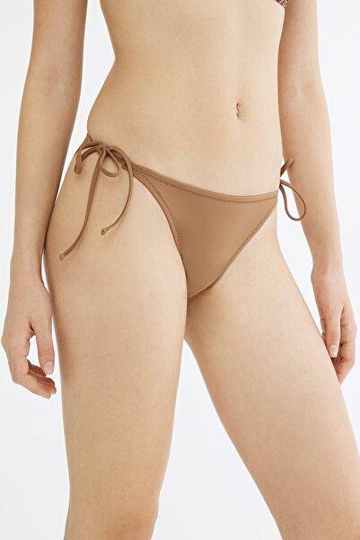 Penti Kadın Açık Kahverengi Basic Bikini Altı