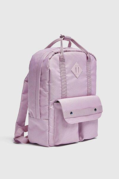 Pull & Bear Çift cepli sırt çantası