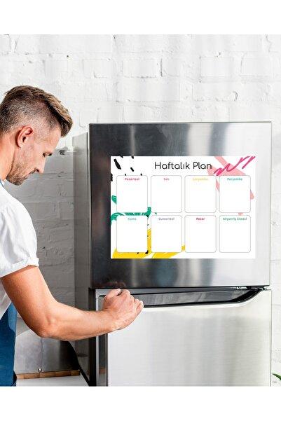 Magnet Haftalık Planlayıcı Buzdolabı I