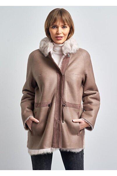 Pierre Cardin Kadın Deri Kürk Ceket