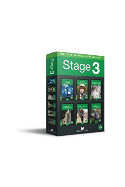 MK Publications Ingilizce Hikaye Seti Stage 3