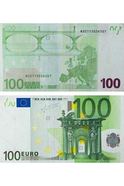 İRHANLAR 100 Euro Sahte Para Geçersiz 100 Adet Oyun Şaka Parası