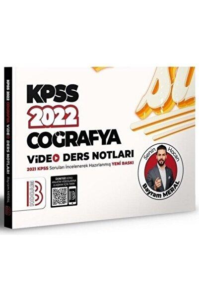 Benim Hocam Yayınları Benim Hocam 2022 Kpss Coğrafya Video Ders Notları - Bayram Meral