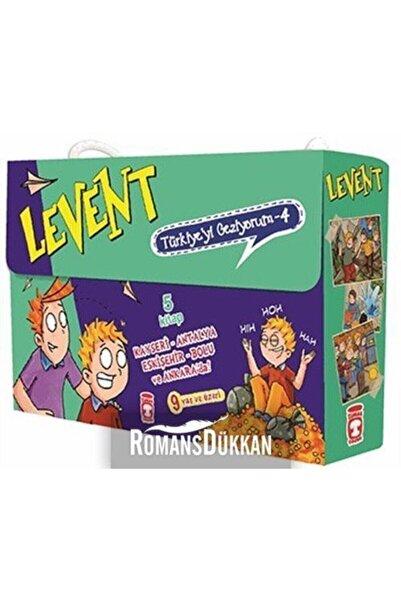 Timaş Çocuk Levent Türkiyeyi Geziyorum 4. Set - (5 Kitap)