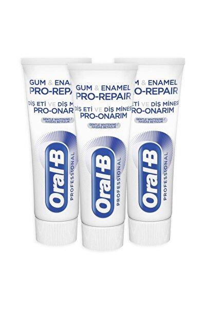 Oral-B 75 ml Diş Eti ve Minesi Pro Onarım Beyazlık Diş Macunu x 3
