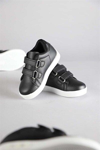 Vicco Oyo Unisex Işıklı Siyah-beyaz Spor Ayakkabı