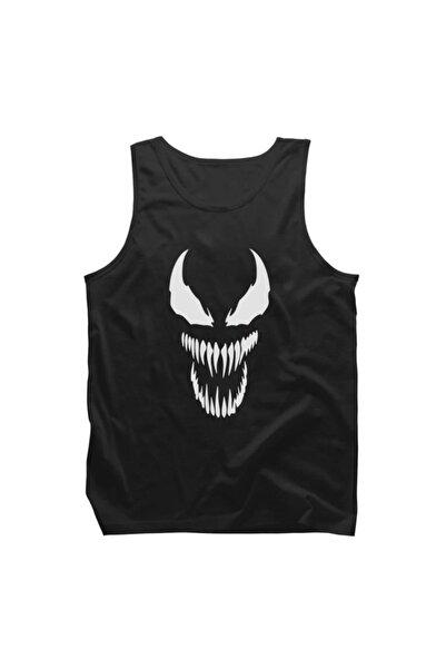 Fandomya Marvel Venom Siyah Askılı Tişört Atlet - ST153MRV1299