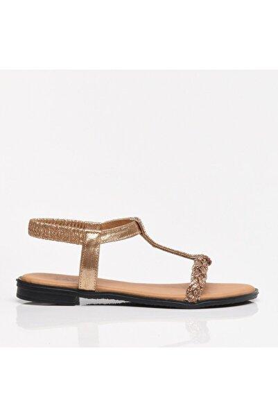 Hotiç Gül Kurusu Kadın Sandalet