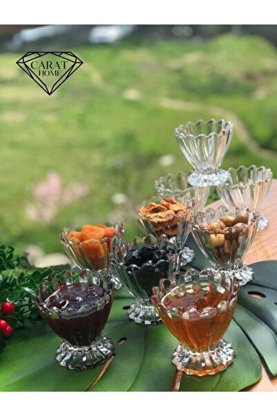 Carat Home 6'lı Magnolia Dondurmalık Ve Çerezlik
