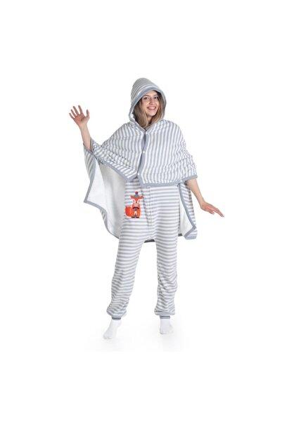 Owli Giyilebilir Battaniye 4-8 Yaş