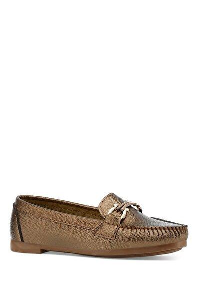 İnci Nally.z 1pr Bronz Kadın Loafer Ayakkabı
