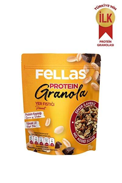 Fellas Granola - Yer Fıstığı & Protein Bar Parçacıklı 270 Gr