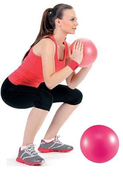 Leyaton Delux 20 Cm Pembe Pilates Topu Jimnastik Yoga Plates Egzersiz Topu - Pembe