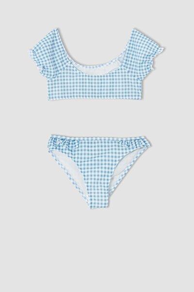 DeFacto Kız Çocuk Pötikareli Esnek Bikini Takımı V8473A621HS