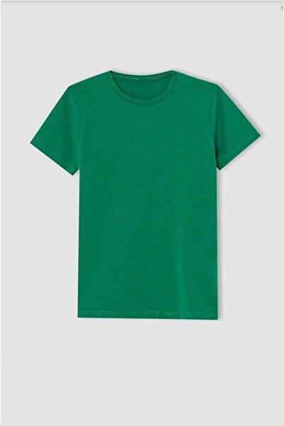 Zafoni Erkek Çocuk Yeşil T-shırt